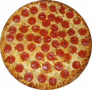 Unless, of course, god turns out to be pepperoni pizza.